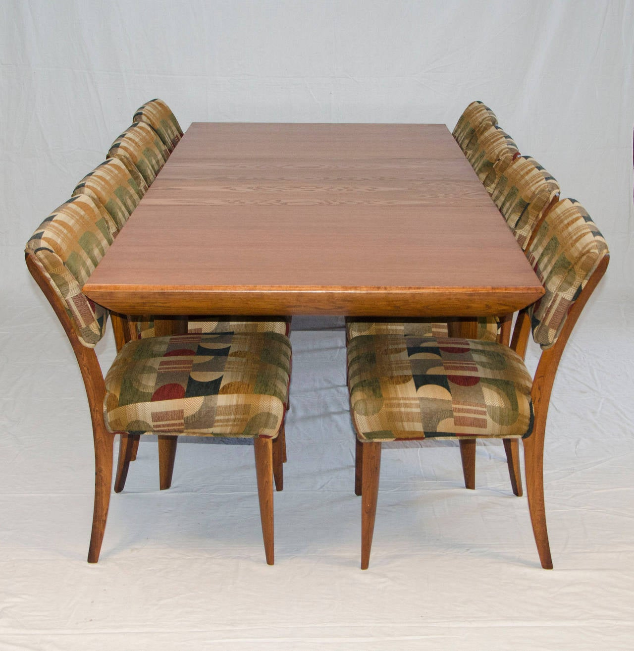 Mid Century Dining Room Table And Chairs By Paul Laszlo For Brown Saltman 2