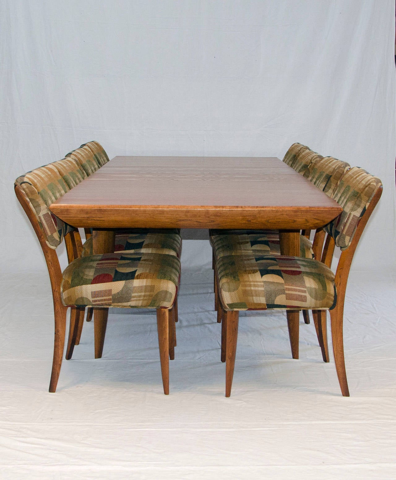 Mid Century Dining Room Table and Chairs by Paul Laszlo for Brown Saltman 4