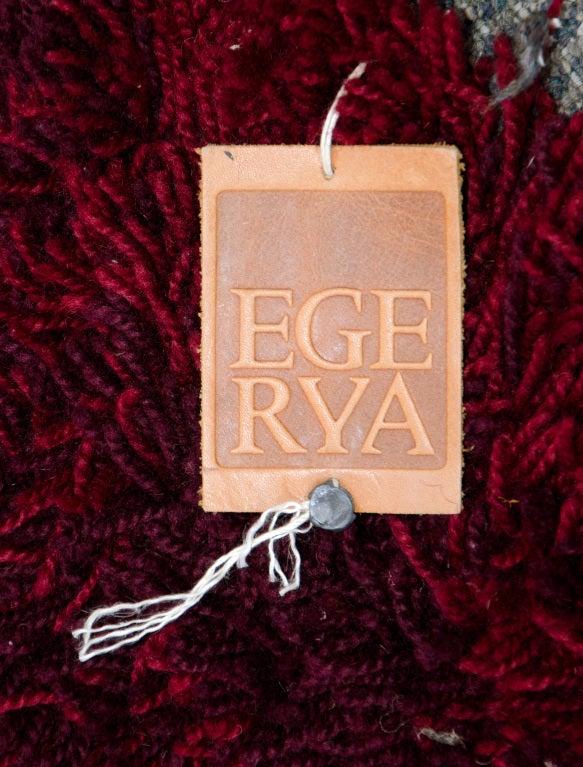 Vintage Shag Rya Rug/ Ege Rya Sweden 9