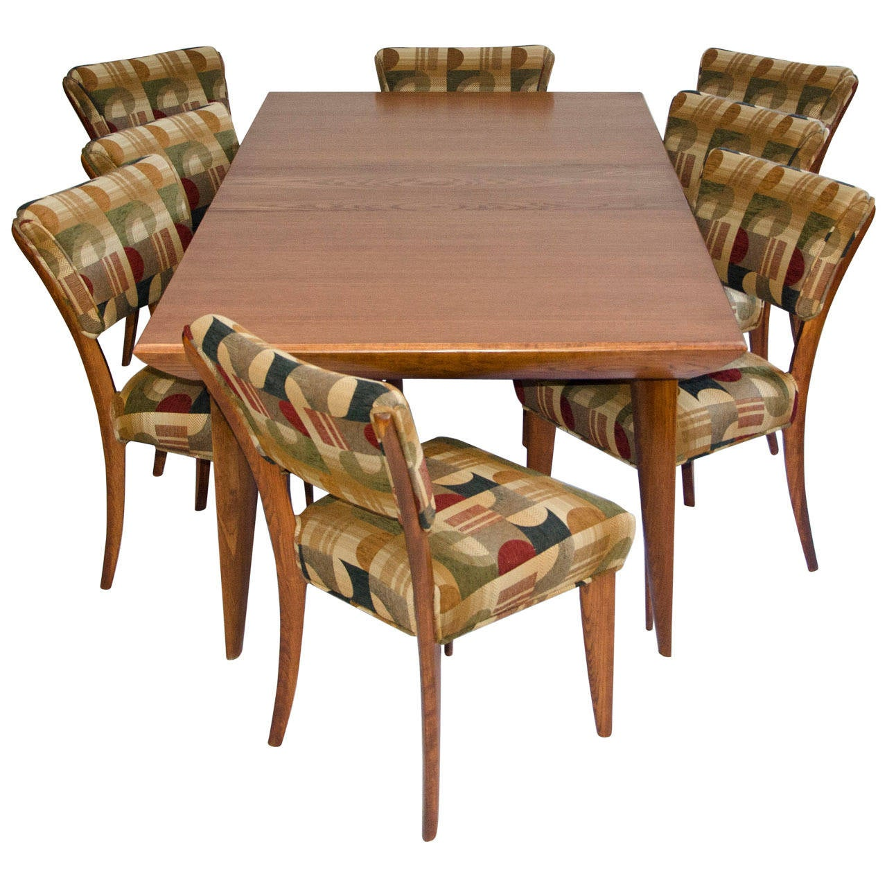Mid Century Dining Room Table And Chairs By Paul Laszlo For Brown Saltman 1