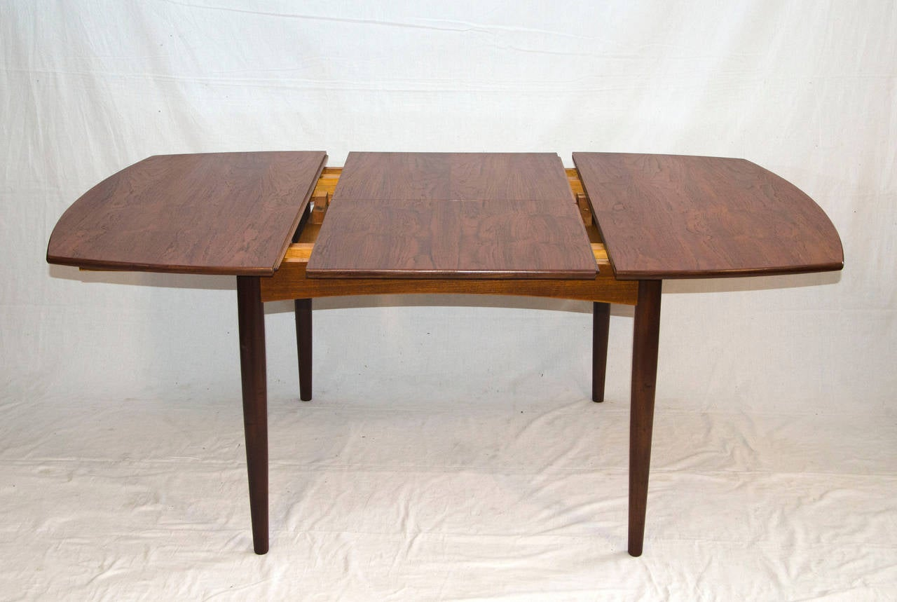 century small walnut dining or game butterfly leaf table at 1stdibs