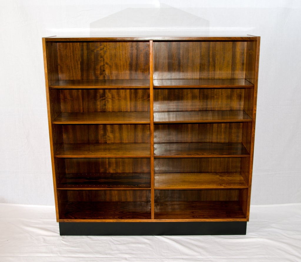 Rosewood Bookcase: Rosewood Danish Bookcase At 1stdibs