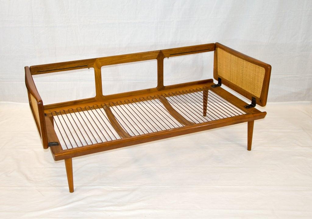 Danish teak Sofa/Settee/Daybed - Peter Hvidt 2