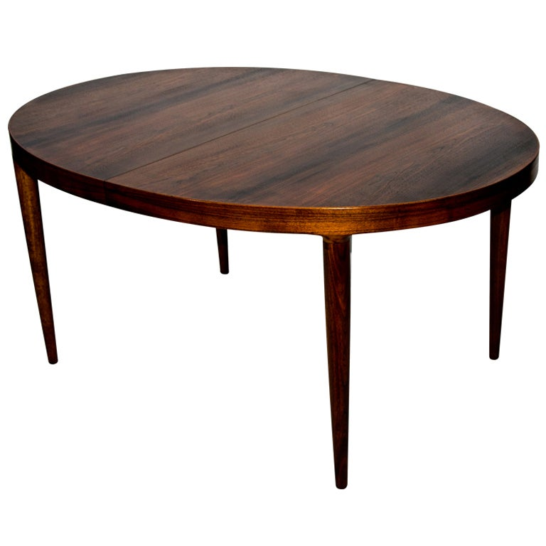 Oval Walnut Dining Table At 1stdibs