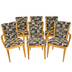 Set of Eight (6 pictured) Dining Chairs - Heywood Wakefield