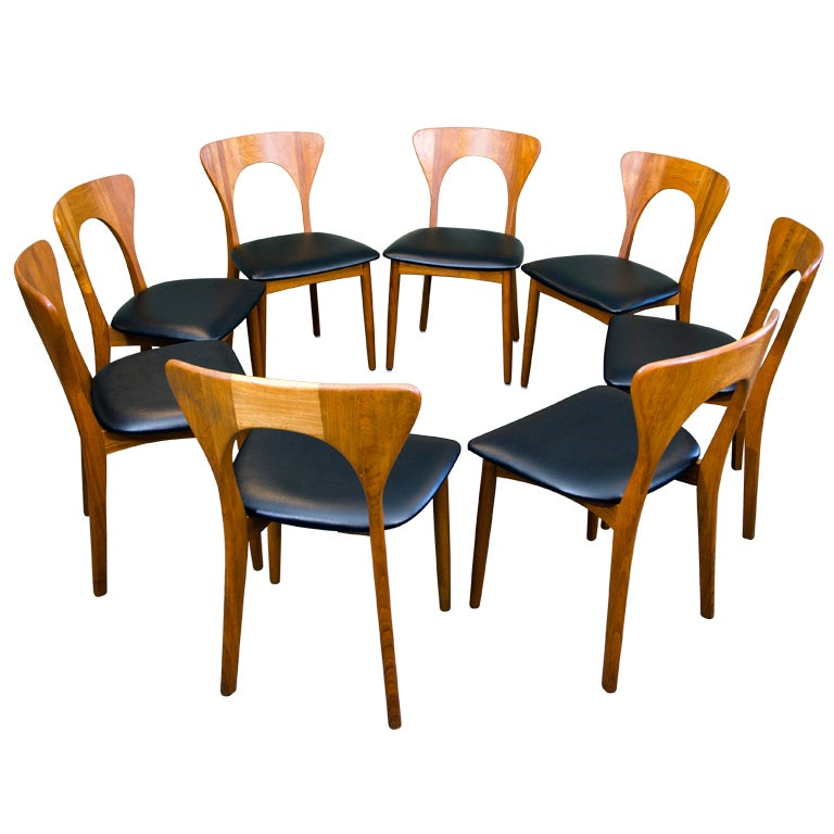 Xxx 318 koefoeds hornslet chairs c for Danish dining room chairs