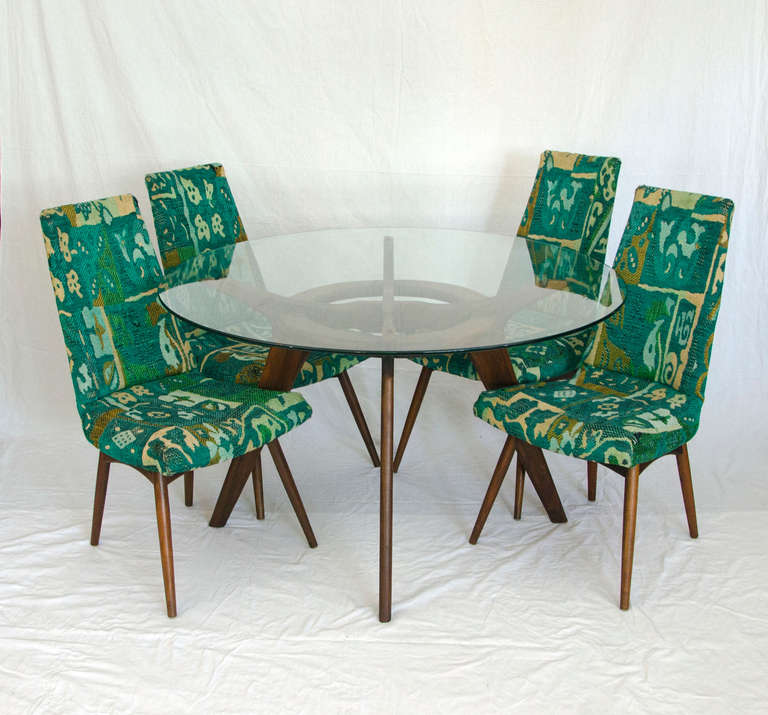 Mid-Century Modern Mid Century Dining Set by Adrian Pearsall