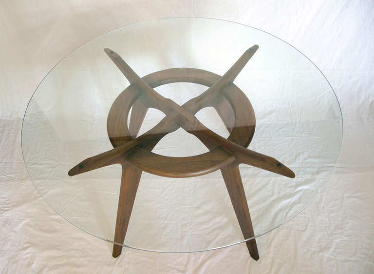 Mid Century Dining Set by Adrian Pearsall In Good Condition In Crockett, CA