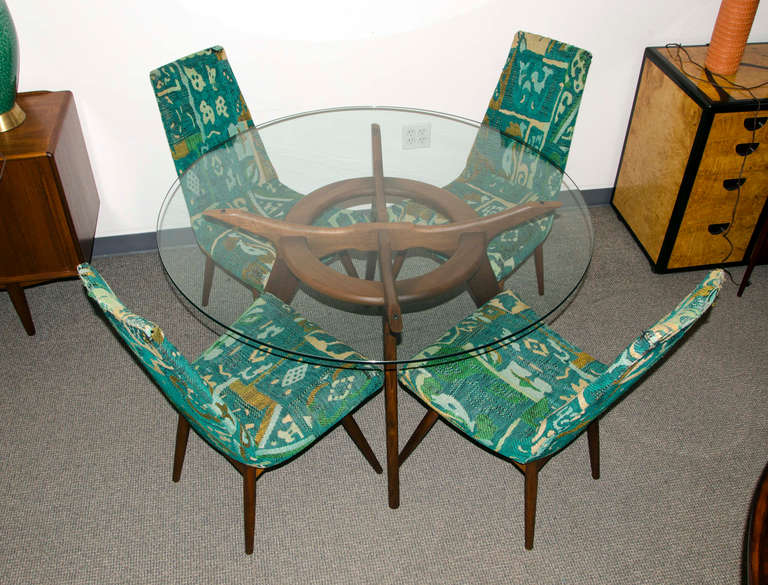 Mid Century Dining Set by Adrian Pearsall 2