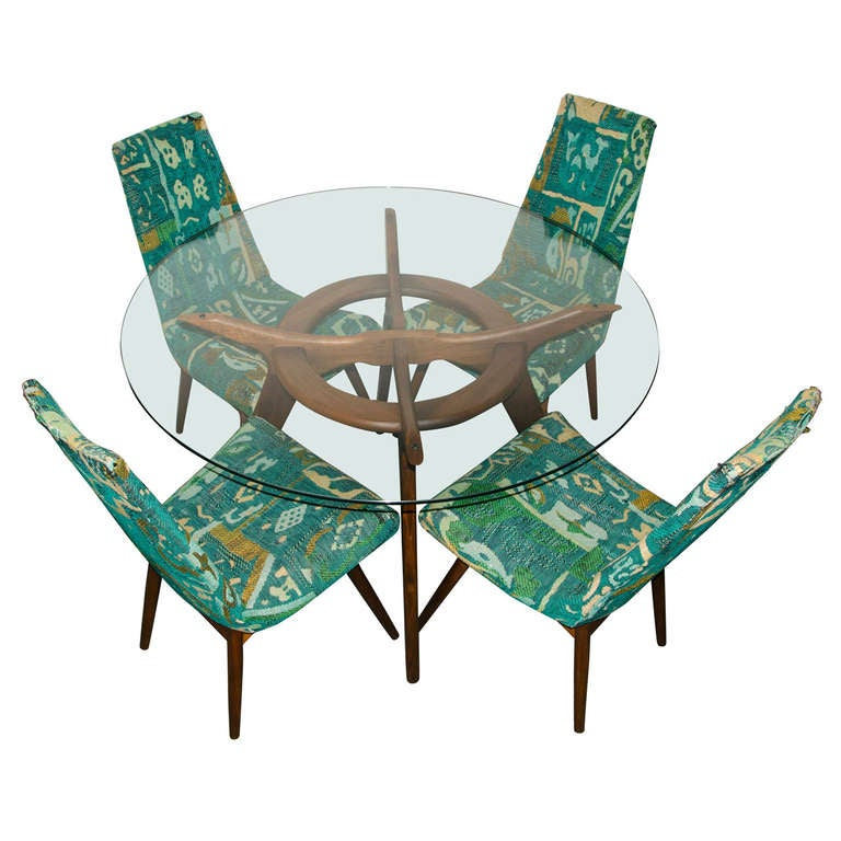 Mid Century Dining Set by Adrian Pearsall