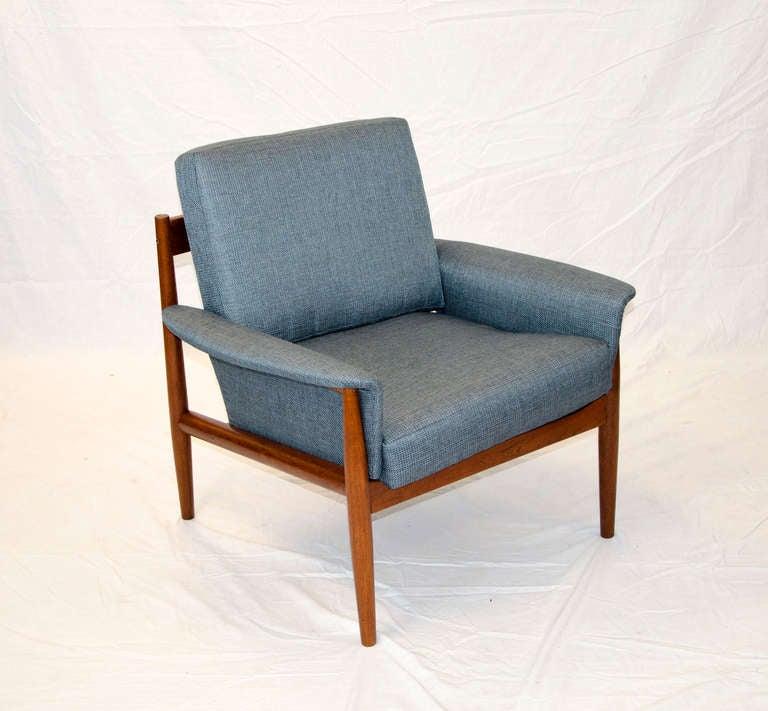 Mid Century Danish Teak Lounge Chair Grete Jalk at 1stdibs