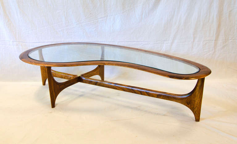 Cocktail Table In Organic Shape 2
