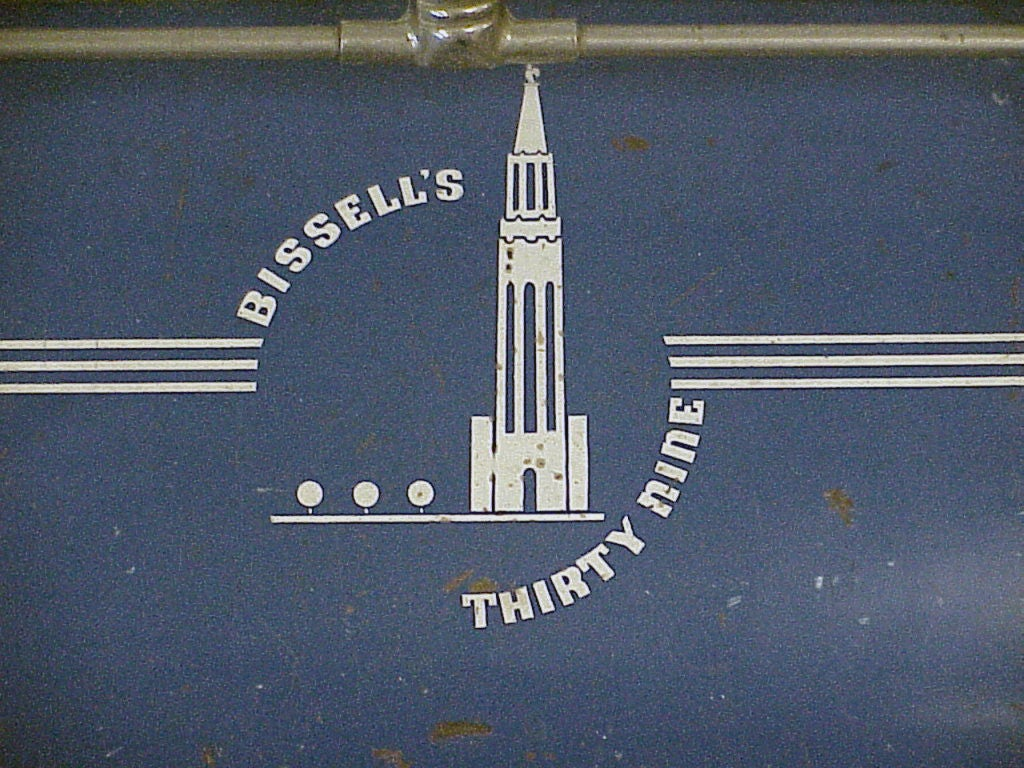 1939 Worlds Fair Bissell Carpet Sweeper At 1stdibs