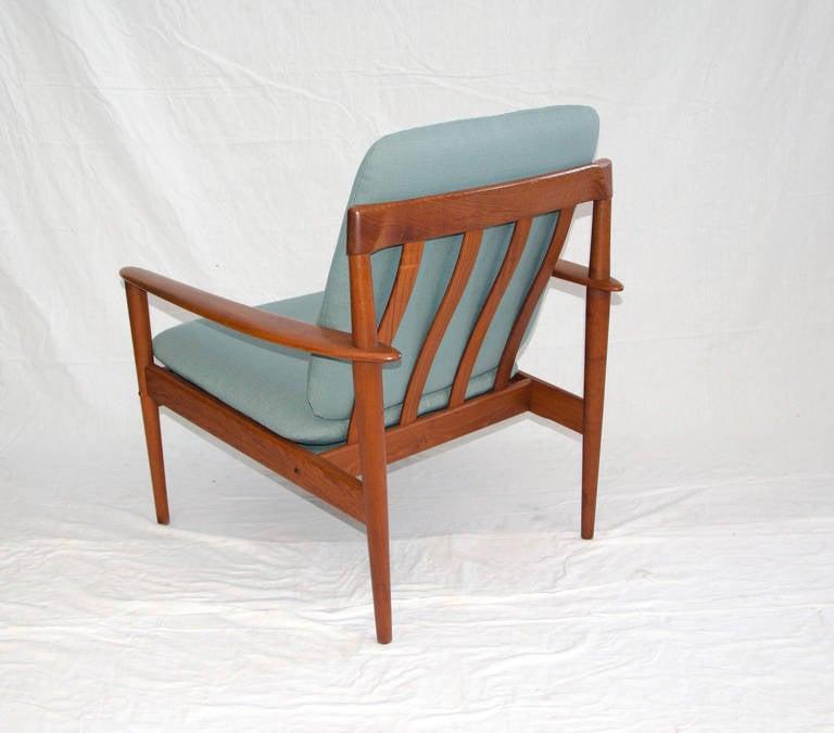 Danish Teak Lounge Chair by Grete Jalk at 1stdibs
