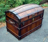 Dome Top Steamer Trunk image 4