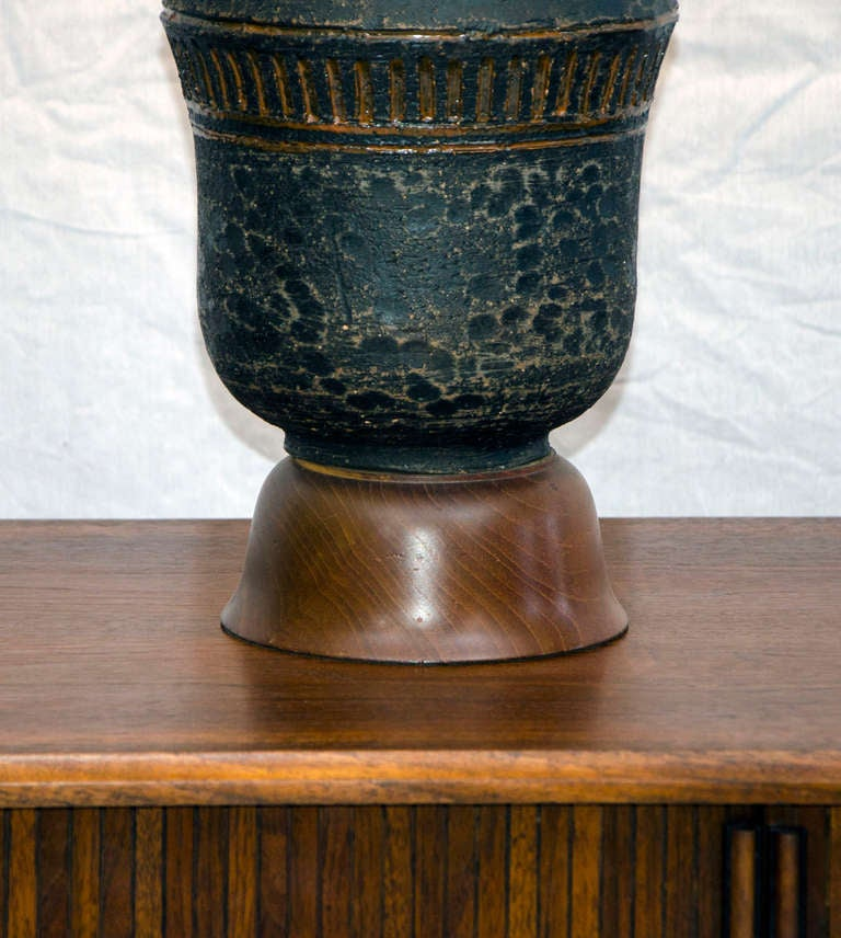 Mid-20th Century Mid Century Table Lamp Asian Influence For Sale