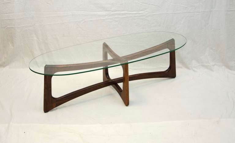 mid century coffee table adrian pearsall at 1stdibs