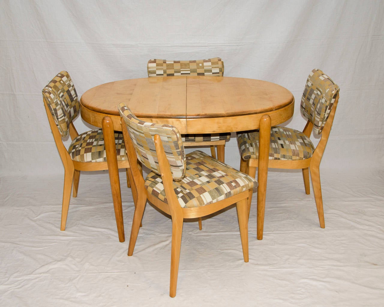 Four Mid Century Dining Chairs Heywood Wakefield at 1stdibs