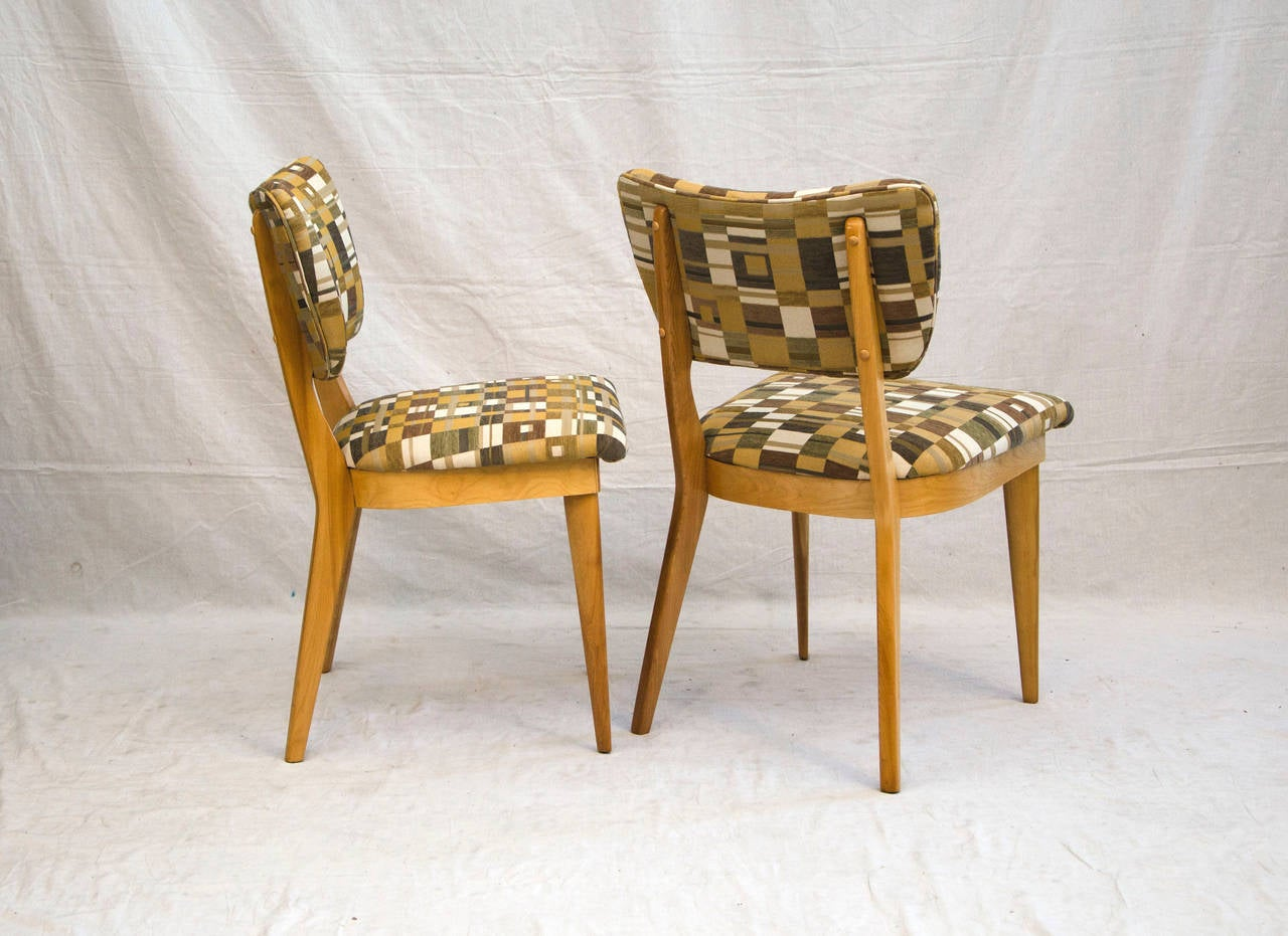 Attractive Four Mid Century Dining Chairs   Heywood Wakefield 3
