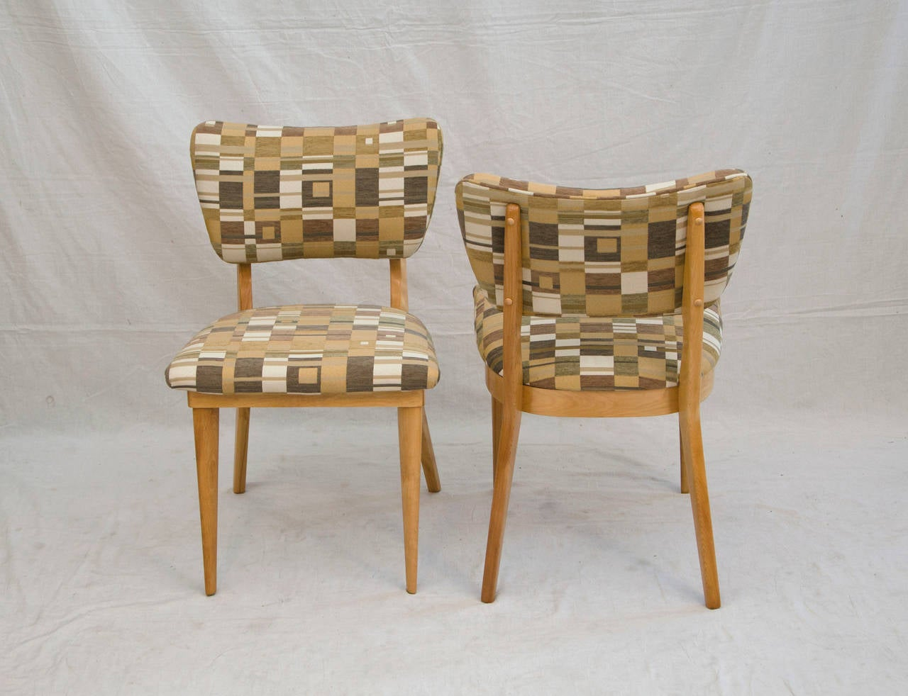 Four Mid Century Dining Chairs Heywood Wakefield For