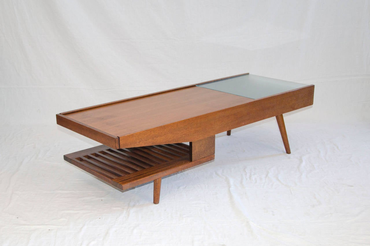 Well Designed Medium Size Coffee Table By John Keal For Brown Saltman Co Of