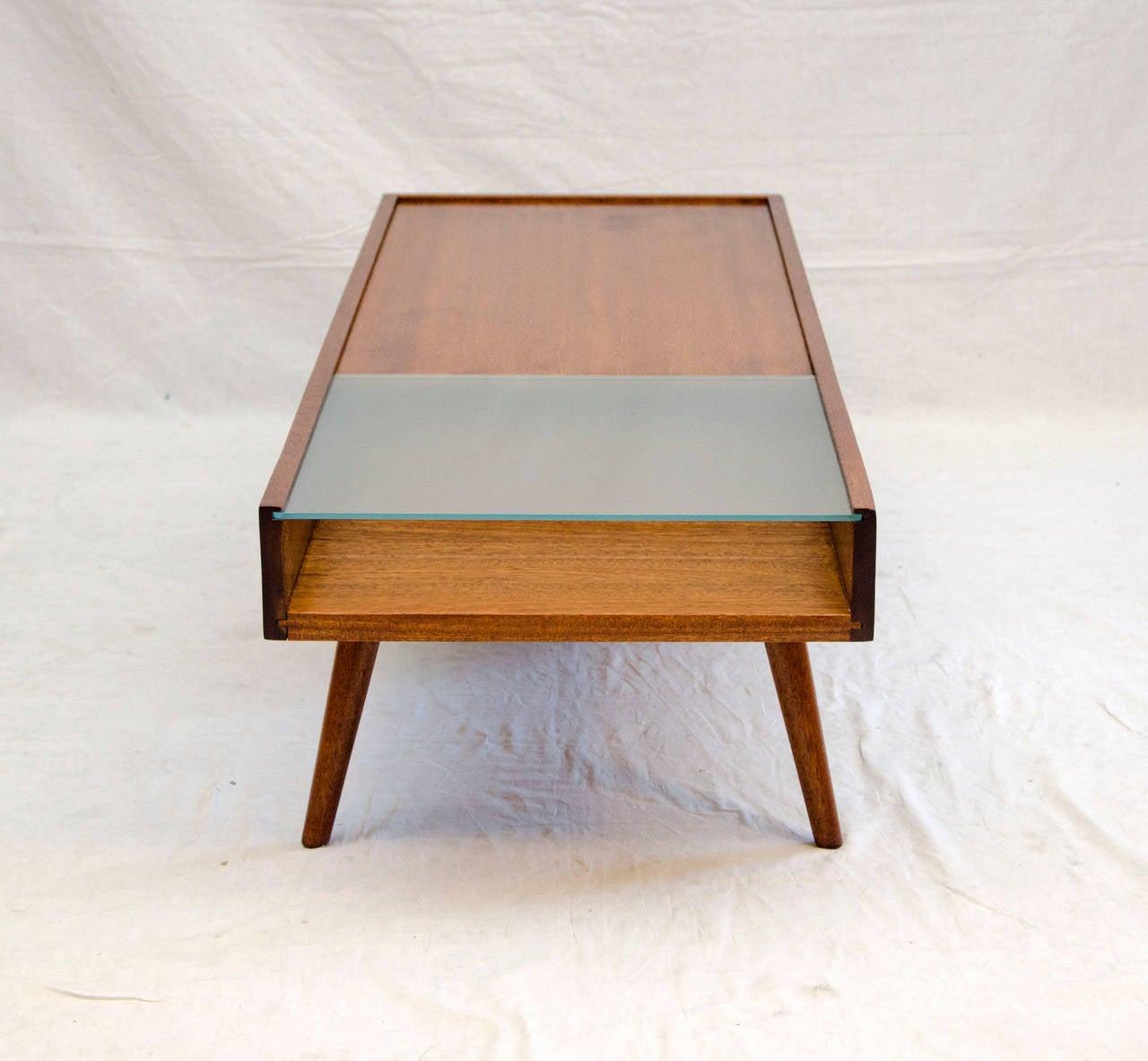 Mid Century Coffee Table John Keal For Brown Saltman At: Mid-Century Coffee Table, John Keal For Brown Saltman At