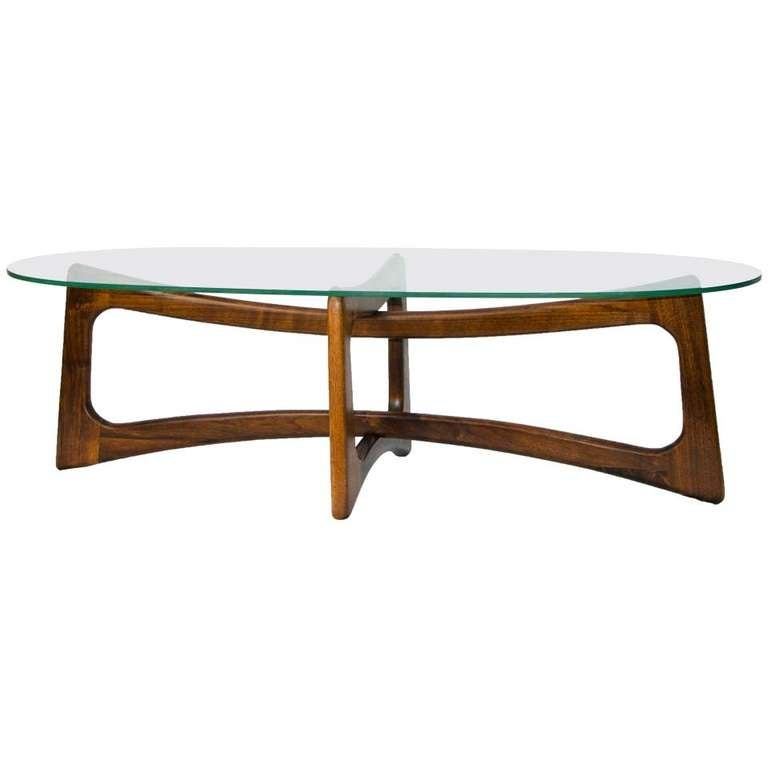 Lane Pearsall Style Mid Century Modern Coffee Table: Mid Century Coffee Table Adrian Pearsall