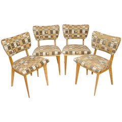 Four Mid Century Dining Chairs - Heywood Wakefield