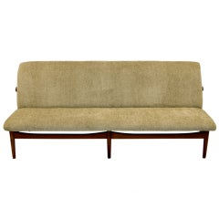 Finn Juhl Teak Japan Sofa Model 137