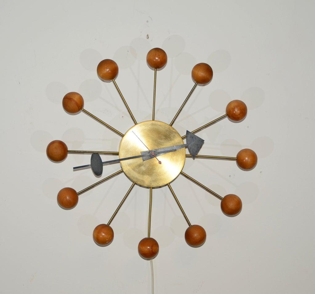 original george nelson ball clock at stdibs - original george nelson ball clock