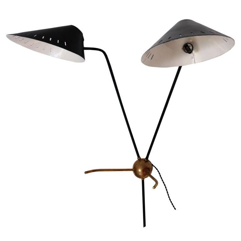 Lightolier Table Pendulum Lamp At 1stdibs