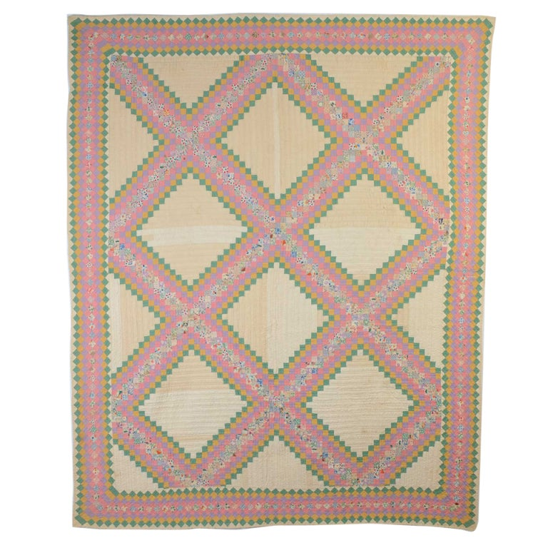 Irish Chain Quilt For Sale