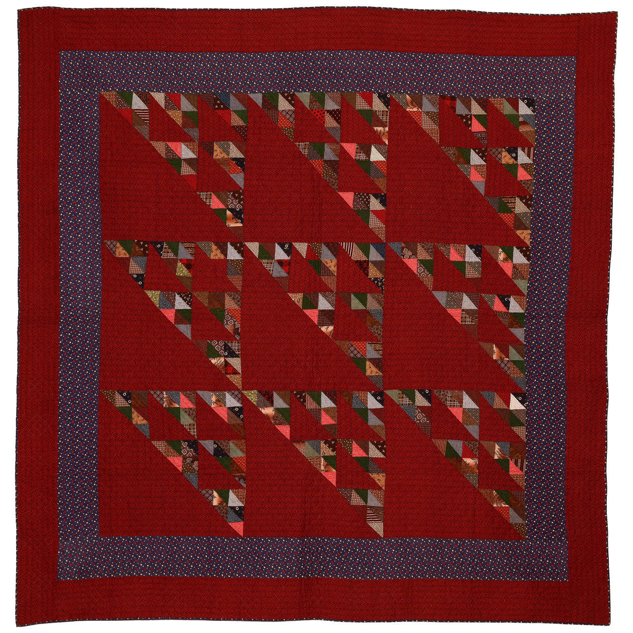 Birds in the Air Quilt