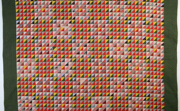 Thousand Pyramids Quilt image 2