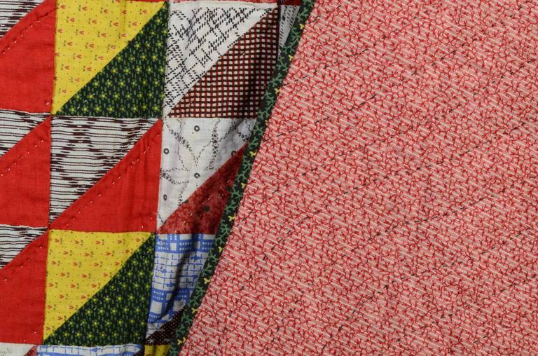 Thousand Pyramids Quilt For Sale 1