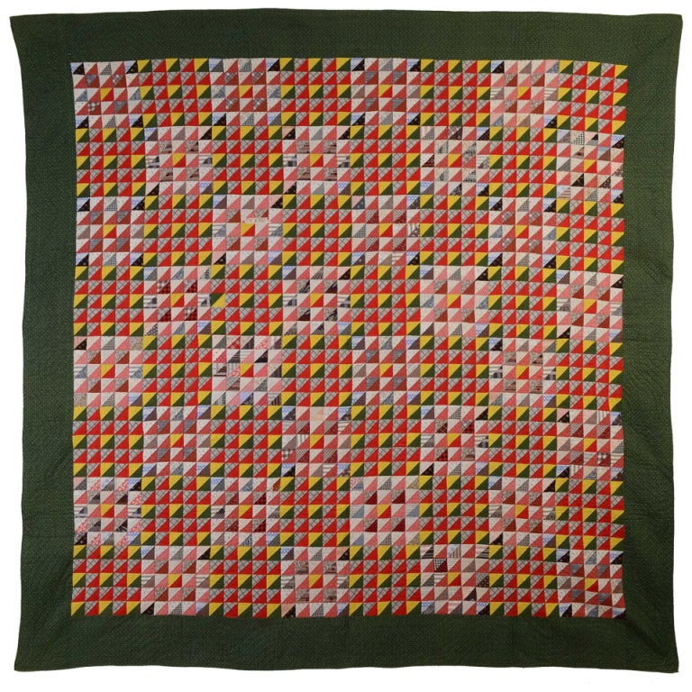 Thousand Pyramids Quilt For Sale