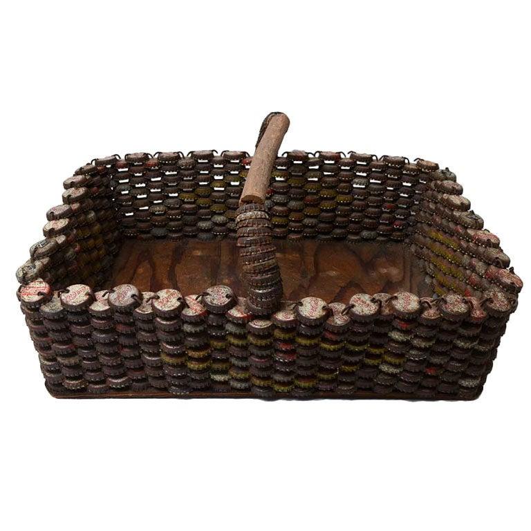 Bottlecap Basket