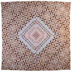 Original Pattern Center Medallion Quilt