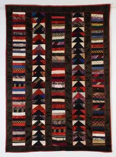 Chinese Coins and Wild Goose Chase Crib Quilt