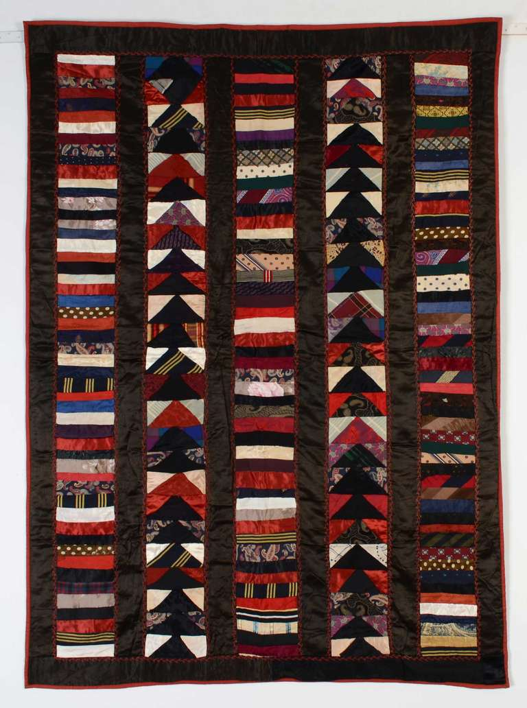 Chinese Coins And Wild Goose Chase Crib Quilt For Sale At