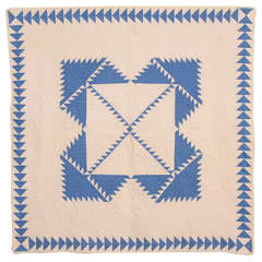 Delectable Mountains Crib Quilt