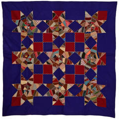 Mennonite Touching Stars Quilt