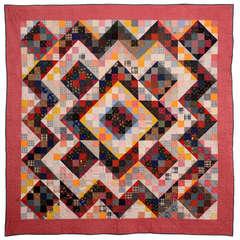 Perkiomenville Pieced Quilt Pattern
