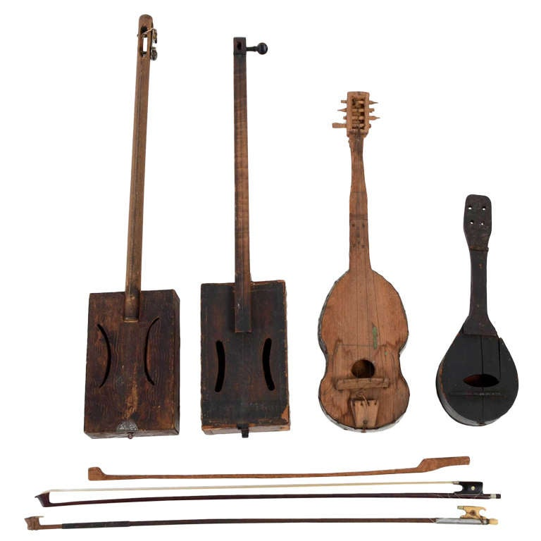 homemade musical instruments at 1stdibs