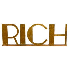 RICH Sign