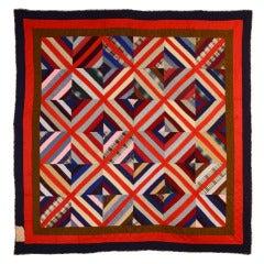 Wool Kaleidoscope Quilt