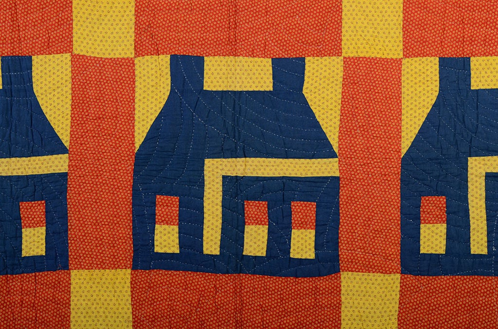 American Schoolhouse Quilt For Sale
