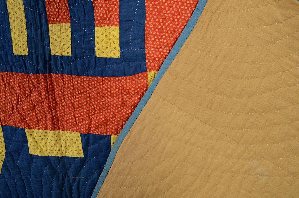 Cotton Schoolhouse Quilt For Sale