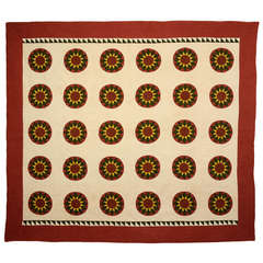 Rising Suns Quilt