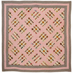 Four-Patch in Diamond Quilt